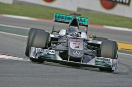 "2010 season as ""Mercedes GP Petronas"", Mercedes announced today 823"