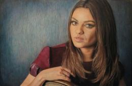 Mila Kunis Portrait by CuriousGeorge43545 on DeviantArt 983