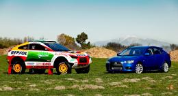 Dakar Mitsubishi Racing Lancer Sportback and 2010 Mitsubishi Lancer 107