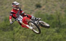 Montana, motocross riders do tricks during the live fighting event 1351