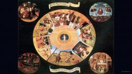 background bosch hieronymus, painting, wallpaper, widescreen 1770