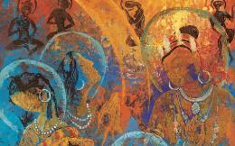 Tibetan Thangka Painting Widescreen 1 20 Wallpaper 1680x1050 Wallpaper 427