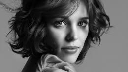 Rachel Mcadams Face Actress Black And White HD Wallpaper 1423