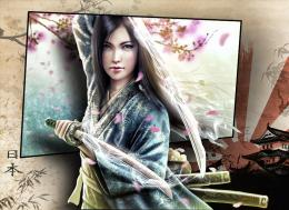 wallpaper samurai girl 4 by spaceibiza1313 d573swj jpg 460