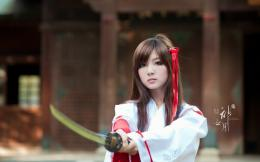 Girls with Sword Samurai Girls HD Wallpapers| HD Wallpapers 1640