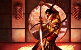 Samurai girl wallpaperFantasy wallpapers#11660 918