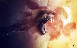 Free Space Lion Wallpapers, Free Space Lion HD Wallpapers, Space Lion 464