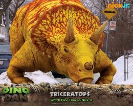 Dino Dan Triceratop Dinosaur HD Wallpaper,High Resolution Backgrounds 1970