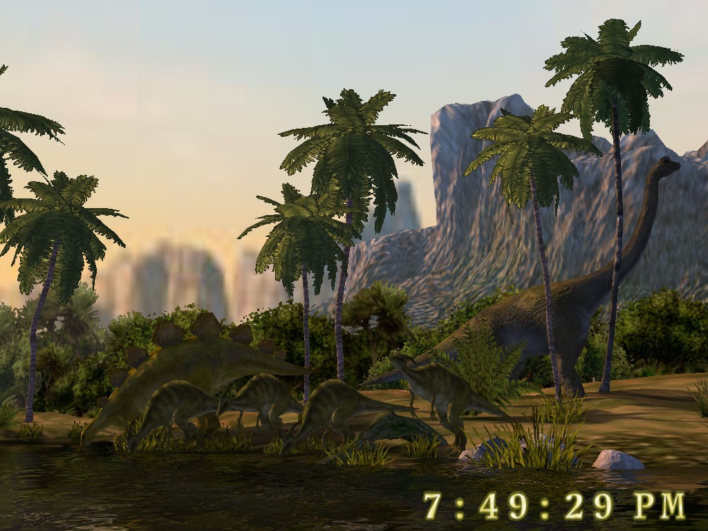 Dinosaurs 3D Screensaver 1 0 523