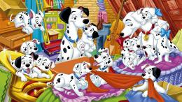 American top cartoons: 101 Dalmatian 490