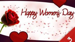 Download Women day with rose wallpaper in HolidayCelebrations 443