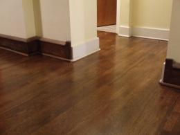 new hardwood floor refinishing pictures + stain 1474