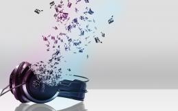 3D Music Headphones Wallpaper Background Wallpaper with 1920x1200 864