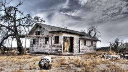 Aboned Country House Hdr Hd Wallpaper | Wallpaper List 1946