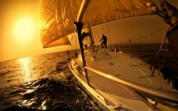 Sailing Sunset Google Skins, Sailing Sunset Google Backgrounds 1422