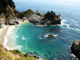 Pfeiffer Burns State Park And Mcway Falls On Big Sur California Coast 593