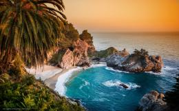 wallpaper Big Sur, McWay, Falls, California free desktop wallpaper 330