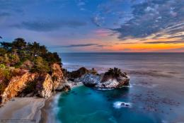 Big Sur, California, McWay Falls free desktop wallpaper in the 124