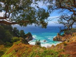 Wallpaper California, United States, Mcway Falls, Big SurNature 729