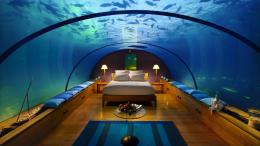 Description: The Wallpaper above is Bedroom under Sea Wallpaper in 816