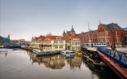 Amsterdam Canal Wallpaper 960