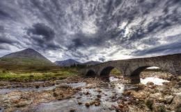 Ancient Stone Bridge Hdr Hd Wallpaper | Wallpaper List 1339
