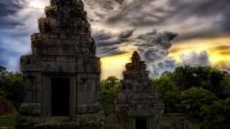 Ancient Asian temples Hdr wallpaper 201