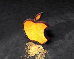 Yellow+wallpaper+ +apple+ 1jpg 836
