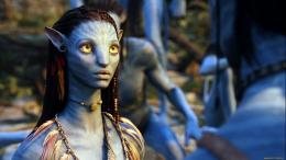 Wallpaper avatar, zoe saldana, eyes desktop wallpaper » Movies 562