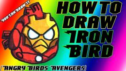 how to draw iron man bird from angry birds avengers 1920 x 1080 jpg 969