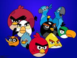 Angry Birdstapety na pulpitFD 998