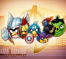 Play Angry Birds Online | Angry Avengers Hd 963