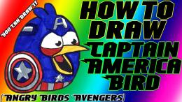 How To Draw Hawkeye Bird From Angry Birds Avengers Youcandrawit 980