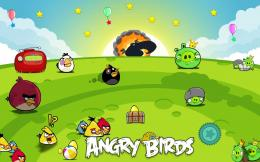 avengers, batman, hd, anime: 145 Wallpapers Angry Birds HD Backgrounds 1663