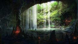 Coders Wallpaper Abyss Explore the Collection Caves Earth Cave 145521 1858