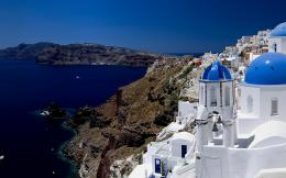 Santorini wallpaper 167186 875