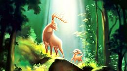 Bambi deer disney cartoon entertainment 1371