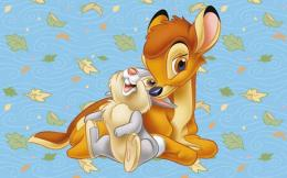 Pin Cartoons Wallpapers Bambi With Mother And Friends 1920x1200 on 1810