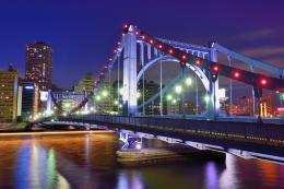 Japan, Tokyo, cityscapes, night, bridges, Asia, capital, cities 632