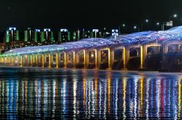 Banpo Bridge, Seoul, South Korea| Amazing Places | 1425