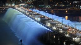 Banpo Bridge Rainbow Fountain 1589