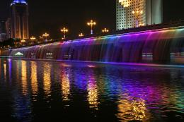 The Banpo Fountain BridgePlacesAmazing Photo Gallery in The 854