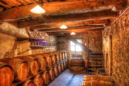 Wine Barrels Wallpaper Where the wine is aged in 570