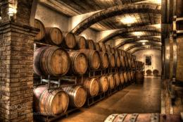 Wine Barrels Wallpaper Photograph hdr wine cellar 1026