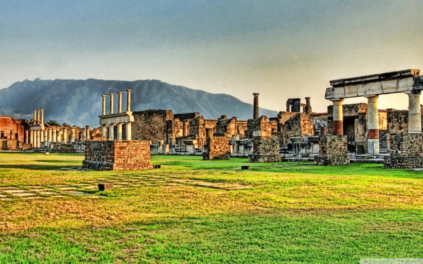 Download Pompeii Ruins wallpaper in CityWorld wallpapers with all 1186