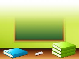 Back to school, book, pencil, eraser Free PPT Backgrounds for your 202