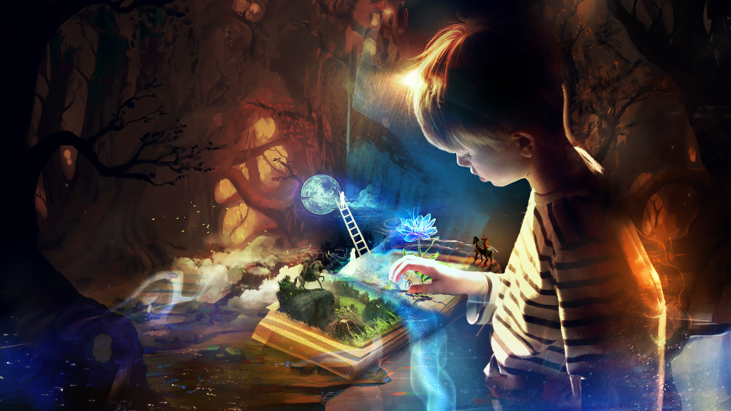 Book Imagination Wallpapers | HD Wallpapers 1961
