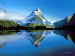 Reflection Water wallpaper | Download Beautifull Mountain Reflection 1654