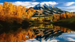 Download * Beautiful Mountains Reflection In The Lake * wallpaper in 1277