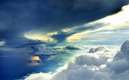 , sky, light rays, beautiful, reflection, wallpaperMagic4Walls com 1563